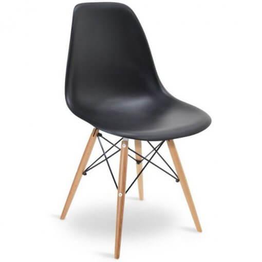 Cadeira Charles 1102 Preta