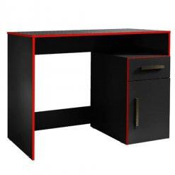 Escrivaninha Mesa Gamer Isabele Vermelha
