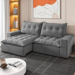 Sofa Portugal Retratil e Reclinavel