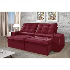 Sofa Retratil e Reclinavel Heitor Bordo