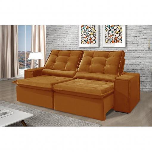 Sofa Retratil e Reclinavel Heitor Cobre