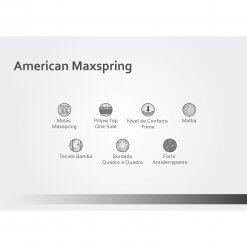 Colchao American Molas Maxspring Caracteristicas
