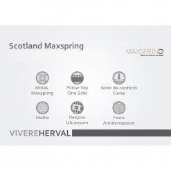Colchao Scotland Caracteristicas