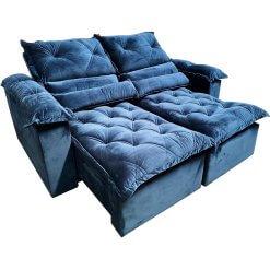 Sofa Retratil e Reclinavel Santorini com Molas 180cm